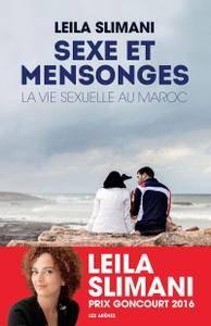 """Leila Slimani, """"Sexe et mensonges: La Vie sexuelle au Maroc"""""""