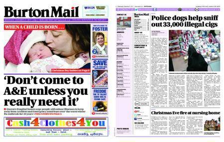 Burton Mail – December 27, 2017