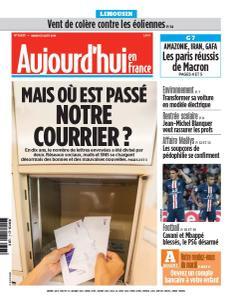 Aujourd'hui en France du Mardi 27 Août 2019