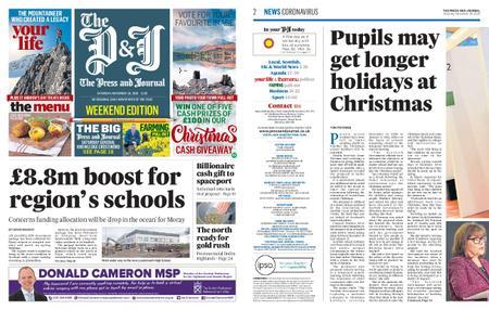 The Press and Journal Moray – November 28, 2020