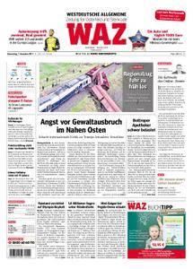 WAZ Westdeutsche Allgemeine Zeitung Oberhausen-Sterkrade - 07. Dezember 2017