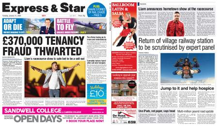 Express and Star City Edition – January 14, 2020