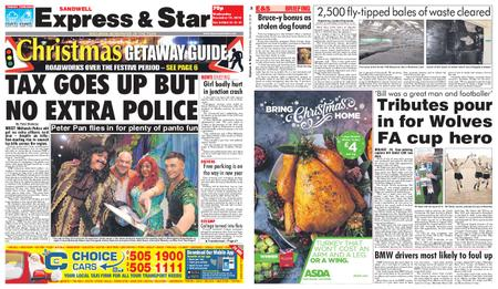 Express and Star Sandwell Edition – December 19, 2018