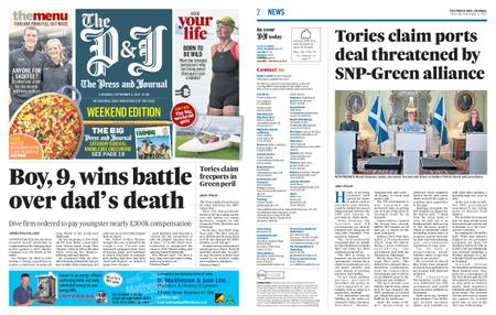The Press and Journal Moray – September 04, 2021