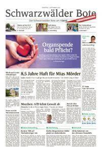 Schwarzwälder Bote Sulz - 04. September 2018