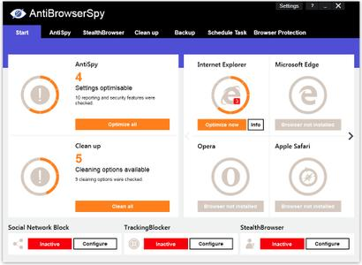 Abelssoft AntiBrowserSpy 2019 v265 Multilingual
