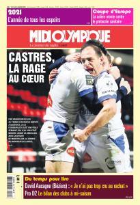 Midi Olympique Rouge - 4 Janvier 2021
