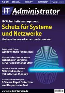 IT-Administrator - Mai 2019