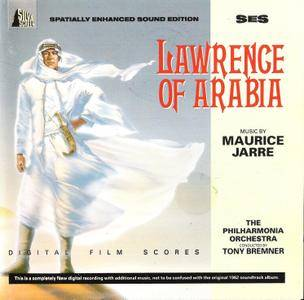 The Philharmonia Orchestra; Tony Bremner - Maurice Jarre: Lawrence Of Arabia (1962) Re-recorded 1989, Remastered 1993