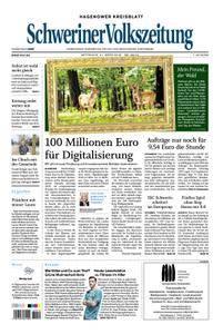 Schweriner Volkszeitung Hagenower Kreisblatt - 21. März 2018
