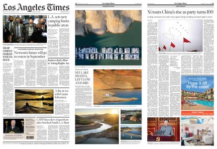 Los Angeles Times – July 02, 2021