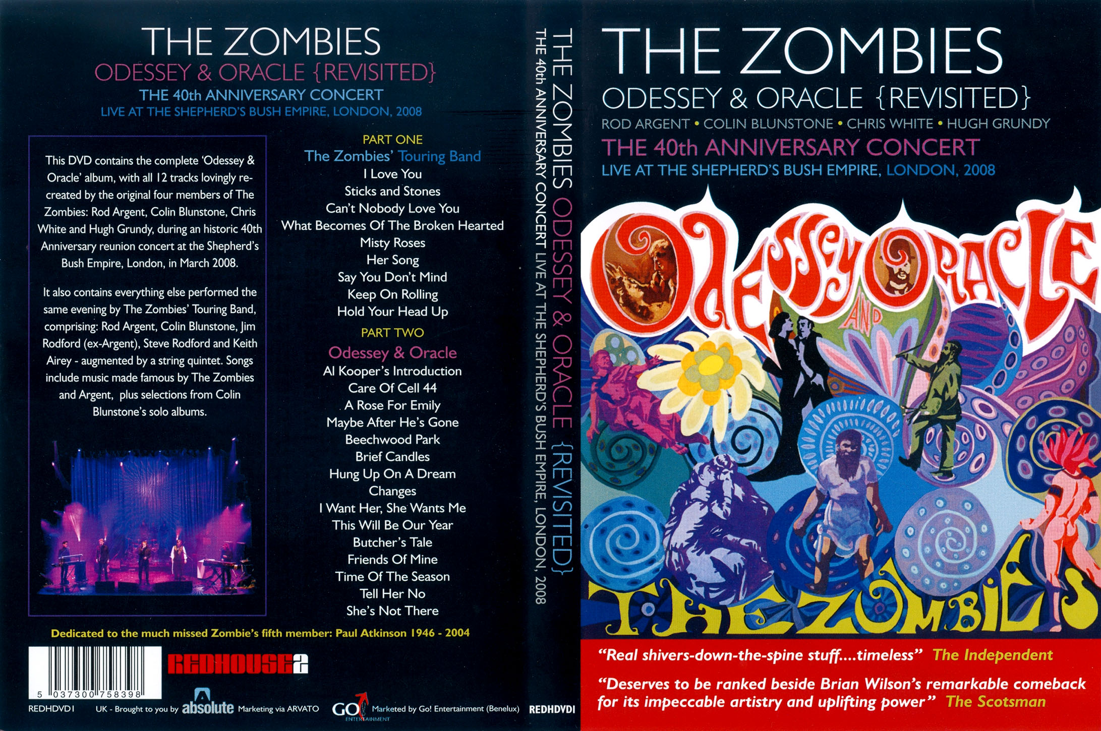 The Zombies Odessey Amp Oracle Revisited 2009 The