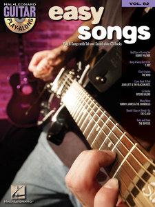 Guitar Play-Along Vol. 82 - Easy Rock Songs