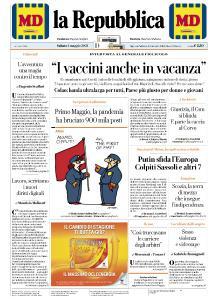 la Repubblica - 1 Maggio 2021
