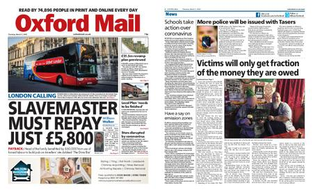 Oxford Mail – March 05, 2020