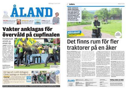 Ålandstidningen – 17 juni 2019