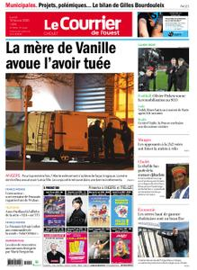 Le Courrier de l'Ouest Cholet – 10 février 2020