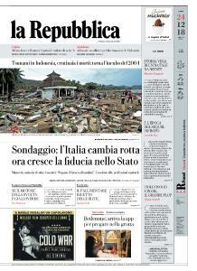 la Repubblica - 24 Dicembre 2018