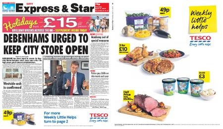 Express and Star City Edition – April 11, 2019
