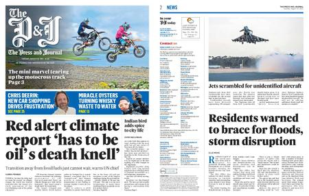 The Press and Journal Moray – August 10, 2021