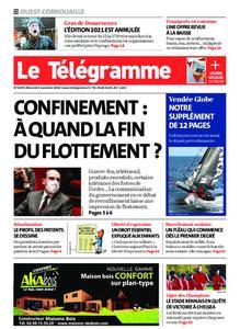 Le Télégramme Ouest Cornouaille – 04 novembre 2020