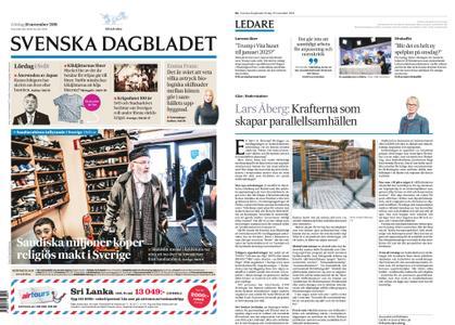 Svenska Dagbladet – 10 november 2018