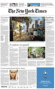International New York Times - 21 April 2020