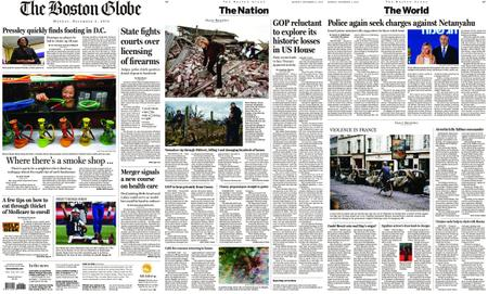 The Boston Globe – December 03, 2018