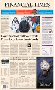 Financial Times Europe – 21 January 2020