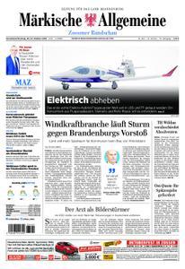 Märkische Allgemeine Zossener Rundschau - 20. Oktober 2018