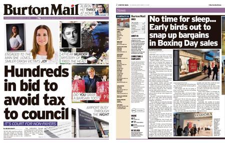 Burton Mail – December 27, 2018