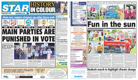 Shropshire Star Shrewsbury Edition – May 27, 2019