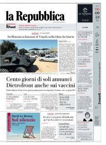 la Repubblica - 6 Settembre 2018