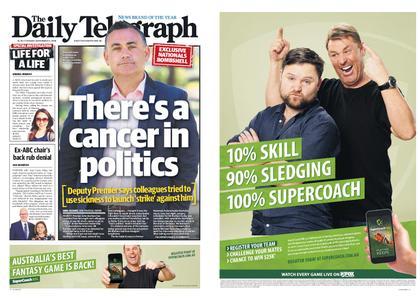 The Daily Telegraph (Sydney) – November 13, 2018