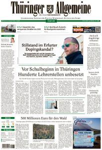 Thüringer Allgemeine – 14. August 2019