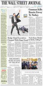 The Wall Street Journal Europe  December 20 2016