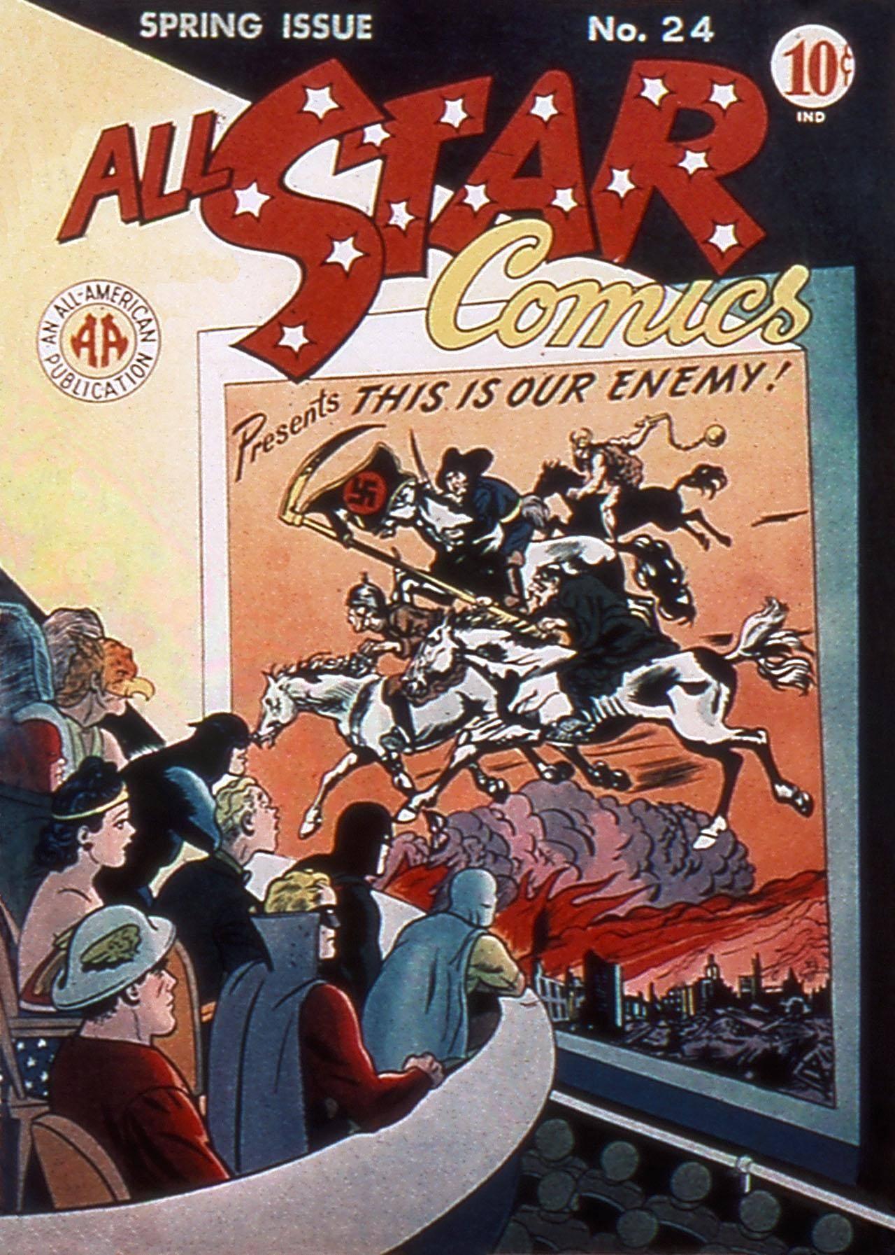 All-Star Comics 024 F 1945 Darkmark and Icarus-DCP