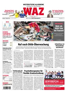 WAZ Westdeutsche Allgemeine Zeitung Oberhausen-Sterkrade - 01. Oktober 2018