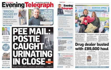 Evening Telegraph First Edition – September 05, 2019