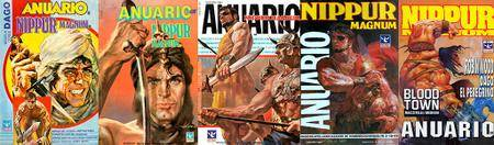 Nippur Magnum Anuario #7, #15, #30, #34, #53