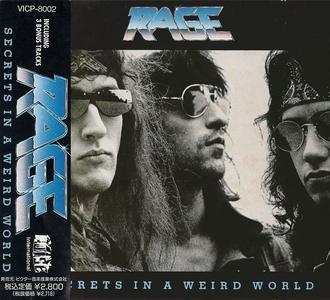 Rage - Secrets In A Weird World (1989) {1990 Noise International Japan}
