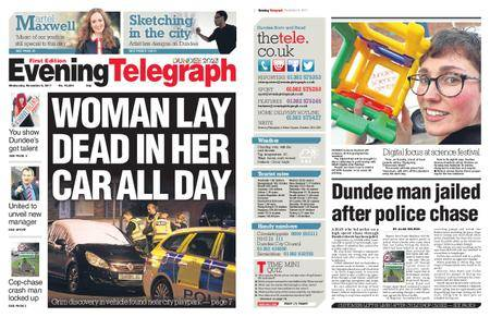 Evening Telegraph First Edition – November 08, 2017