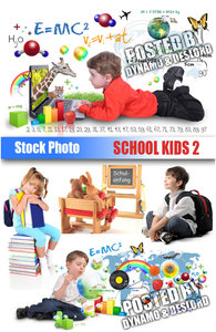 School kids 2 - UHQ Stock Photo