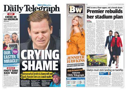 The Daily Telegraph (Sydney) – March 30, 2018