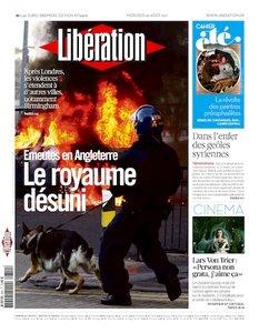 LIBERATION (10 Août 2011)