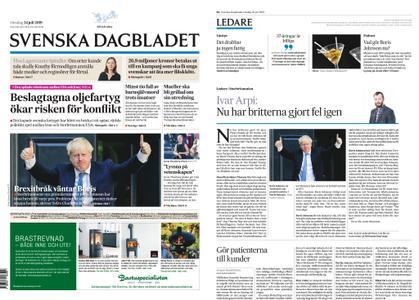 Svenska Dagbladet – 24 juli 2019