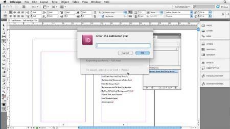 InDesign CS5: EPUB Kindle and iPad