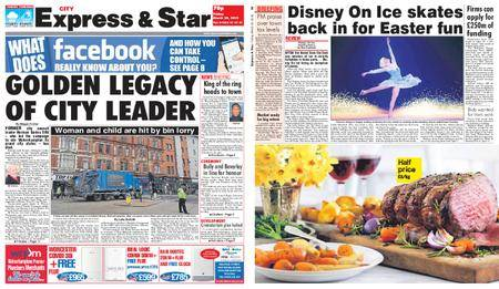 Express and Star City Edition – March 30, 2018