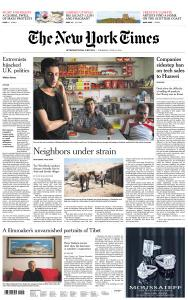 International New York Times - 27 June 2019