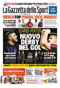 La Gazzetta dello Sport Roma – 24 gennaio 2019